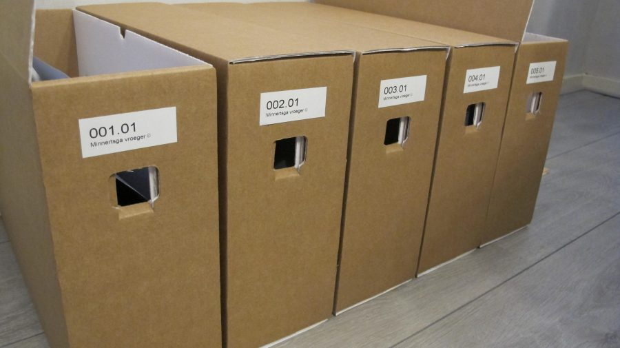 Voortgang inventarisatie documenten