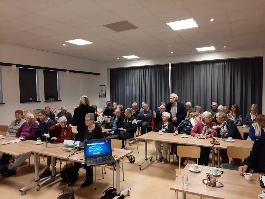 Bijeenkomst SWO over de vroegere middenstand groot succes