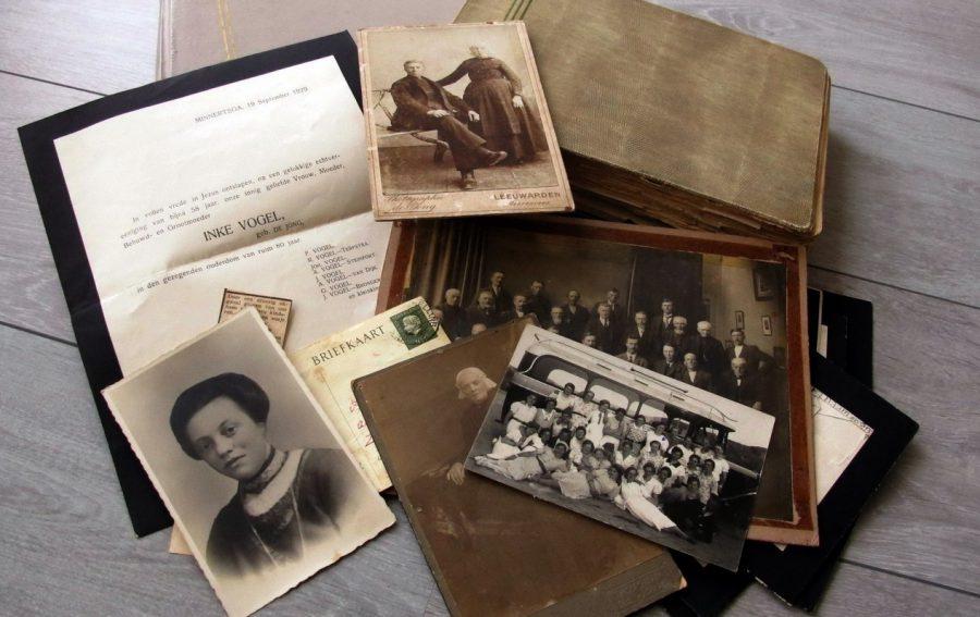 Foto's en documenten in beheer gekregen
