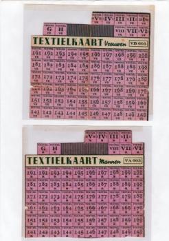 Bonkaart Textiel