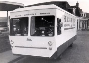 Eerste rijdende winkel van Fryslân