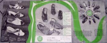 Reclamefolder schoenezaak De Vries