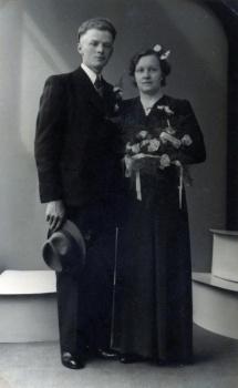 Echtpaar De Jong - Bouma