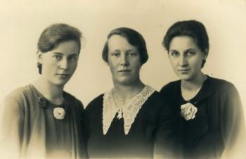 Vriendinnen Elsinga, Bouma en Boersma