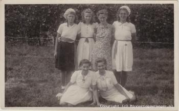 Foto omsteeks 1946