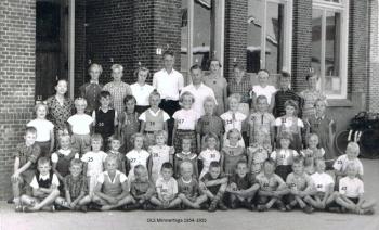 Leerlingen Openbare Lagere School 1954-'55
