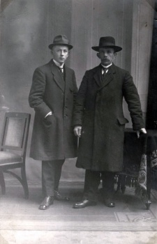 Bernardus Winsemius met zoon Pieter