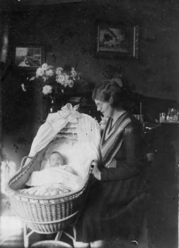 Sibbeltje Tuinhof en dochter Renske