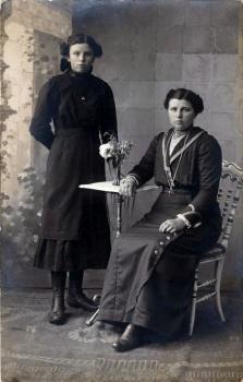 Japke Oberman en Japke de Valk