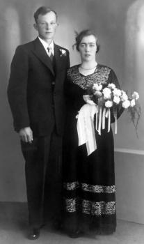 Echtpaar De Haan  - Lont