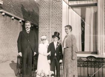 Echtpaar Anema - Van der Voorn Grootenboer