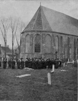 Begrafenis Baron Johan Sippo van Harinsxma thoe Slooten