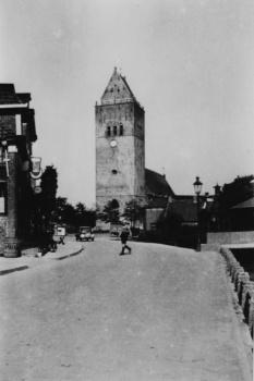 Gezicht op toren 1938