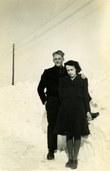 Hein Joostema en Gepje Faber