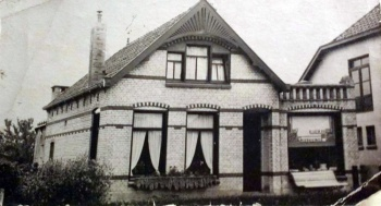 Slagerij Herman Leicht.