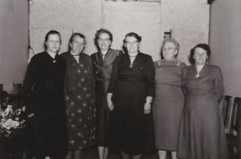 Groep dames