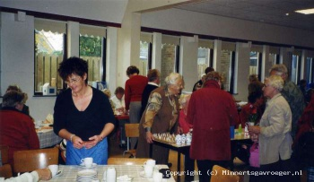 Laatste bazar van vrouwenvereniging