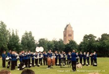 Muziekkorps - drumband Oranje