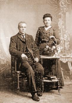 Echtpaar De Roos - Van Mourik