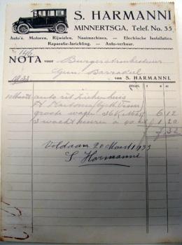 Nota S. Harmanni 1933