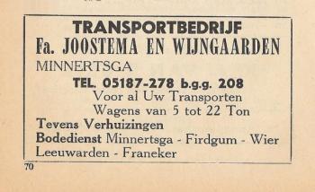 Fa. Joostema & Wijngaarden