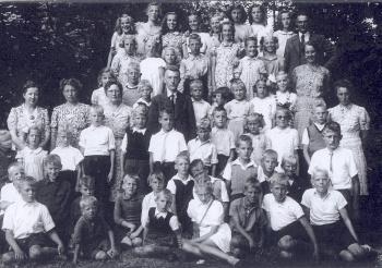 Schoolfoto OLS 1947