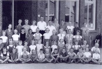 Schoolfoto OLS 1956