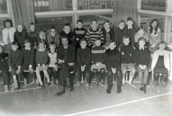 Schoolfoto OBS 1968