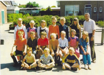Schoolfoto OBS 1980