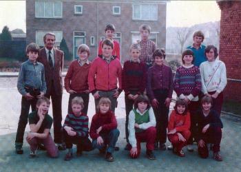 Schoolfoto OBS 1981