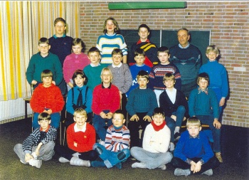 Schoolfoto OBS 1986