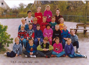 Schoolfoto OBS 1992