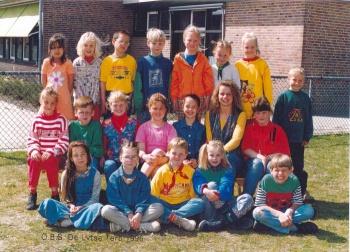 Schoolfoto OBS 1996