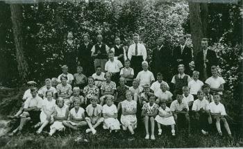 Schoolfoto OLS rond 1935