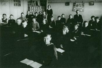 Schoolfoto OLS 1920