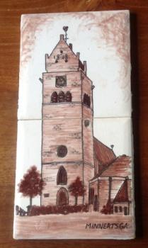 Tegeltje(s) Toren Minnertsga