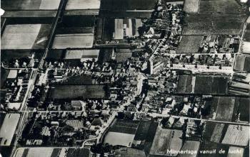 Luchtfoto begin '50 jaren