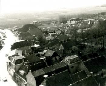 Vanaf de toren begin jaren '70