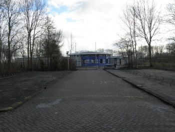 Oude voetbal kantine
