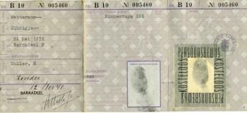 Persoonsbewijs Sijbrigje Wettearauw (binnenkant)