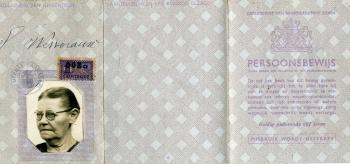 Persoonsbewijs Sijbrigje Wettearauw (buitenkant)