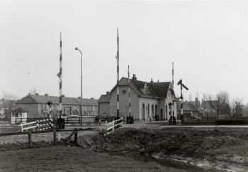 Halte trein Leeuwarden
