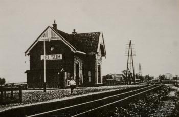 Treinstation Jelsum