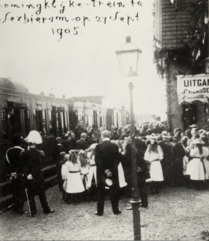 Koninklijke trein NFLS 1905