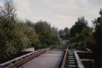 Spoorwegtracé Dokkum - Aalsum