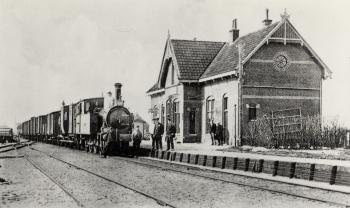 Treinstation Ternaard