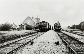 Treinstation Holwerd