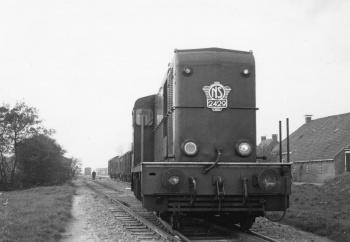 Diesel locomotief NS
