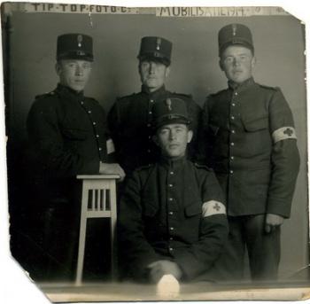 Cornelis Hoekstra - mobilisatie 1914