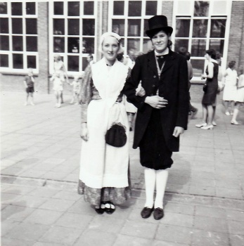 Titia Terpstra en Wiepie Visser